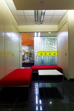 Corporate Offices Office Interior Design Frosted Glass