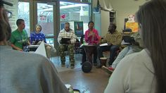 Homeless men and women in Dallas are healing and working through mental and physical trauma using music.