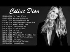 Celine Dion Greatest Hits - Best Songs - YouTube Because I Love You, Love You More, Celine Dion Greatest Hits, Drive All Night, Love Songs Playlist, Music Clips, The Power Of Love, Good Morning Greetings, Pop Songs