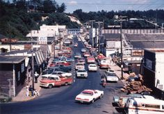 SW Bay Boulevard, Newport, Oregon during the 1970's