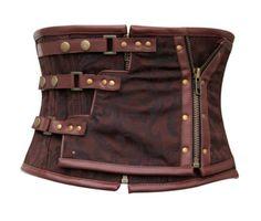 The Violet Vixen - Steampunk Corset Belt, $90.00 (http://thevioletvixen.com/authentic-corsets/steampunk-corset-belt/)