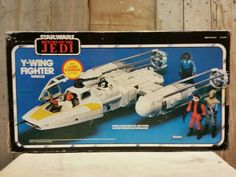 Vintage Star Wars ywing fighter  by Kenner by starwarsdan on Etsy