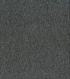 Sew Classics Cotton- Heathered Knit Charcoal FabricSew Classics Cotton- Heathered Knit Charcoal Fabric,