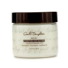 Carol's Daughter Acai Hydrating Face Butter (Dry to Extra Dry Skin) - 56g/2oz by Carol's Daughter. $19.78. 56g/2oz. An intensely hydrating anti-aging face balm Formulated with super-antioxidant Acai to minimize signs of aging Contains Shea Butter natural oils including Soybean & Carrot Seed to soften & moisturize skin Skin appears smoother plumper soothed & younger looking Ideal for dry to extra dry skin Free of paraben synthetic fragrance synthetic dye petrochemical ...
