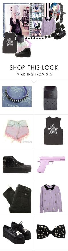 """""""Pastel Goth"""" by the-house-of-wolves ❤ liked on Polyvore featuring Zara, Levi's, My Little Pony, éS, UNIF, L'ÉCLAIREUR, Belstaff, Miss Selfridge and heysarahxoxo"""