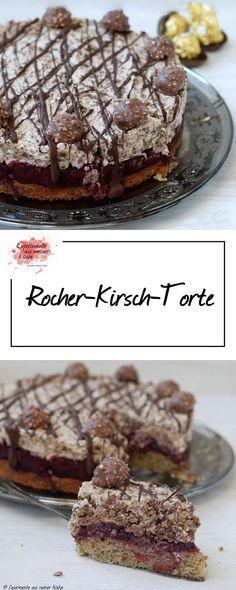 Rocher-Kirsch-Torte | Rezept | Backen