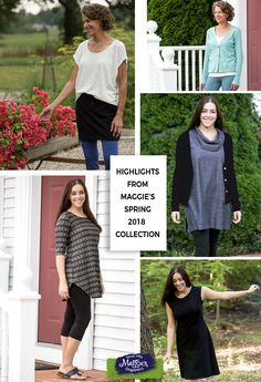 Maggie's NEW Spring Apparel Collection! Always Organic, Always Fair Trade, you can feel good about what you wear! Leggings, tops, skirts, dresses, socks, all made with the comfort and goodness of organic cotton.