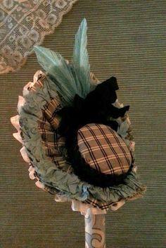 Cherie's Petite Boutique ~ Lovely Antique Silk French Fashion Bonnet