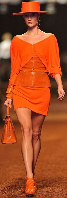 Hermès .... love the look, but that colour doesn't suit me...perhaps in black...or chartreuse ?