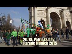 20. St. Patricks Day Parade Munich 2015 auf der Leopoldstraße am 15.03.2...