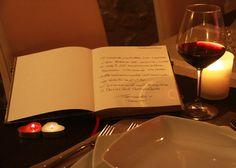 Il libro dei pensieri, per una serata romantica...