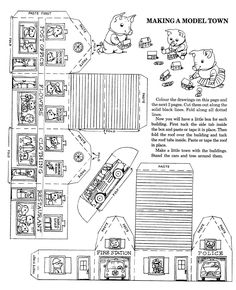 Making A Model Town by Richard Scarry 1990 Richard Scarry's Best Rainy Day Book Ever! Ѡ 1 of 3