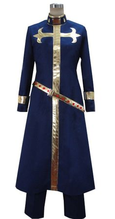 Camplayco JoJo's Bizarre Adventure Enrico Pucci Uniform Cosplay Costume >>> Read more at the image link.