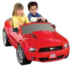 Best Electric Cars for Kids. Mustang Ride On Electric Car