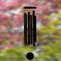"Corinthian Bells 55"" Black Wind Chime - Scale Of G"