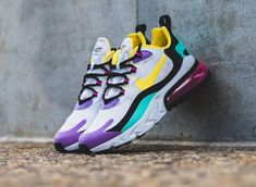 Get the Nike Air Max 270 React Geometric Art on sale for only $67.50 (Retail $150) via Finish Line here now! Sneaker Outfits, Tomboy Outfits, Nike Outfits, Sneakers Mode, Cute Sneakers, Air Max Sneakers, Athleisure, Sneaker Trend, Streetwear