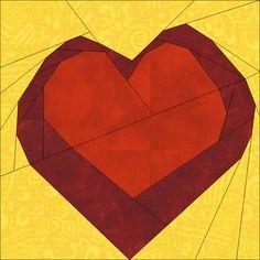 (7) Имя: 'Лоскутное: Теплый Сердце