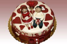 Anniversary cake <3 <3