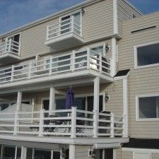 horizontal deck rails