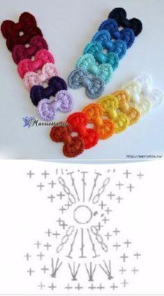 Crochet Bow Chart