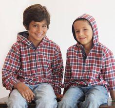 Vestuário para meninos dos 12 aos 10 anos