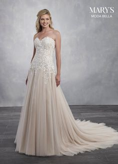 Radiant soft net wedding dress with a strapless sweetheart neckline a95625aaa5c4