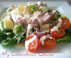 Ensalada Tropical or Tropical Salad.