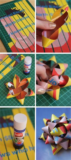 DIY Gift Bow   Shelley Makes #CraftBoard