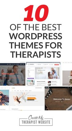 10 of the Best Wordpress Themes for Therapists::