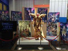 Fotos do estande do filme Os Cavaleiros do Zodíaco - A Lenda do Santuário do evento japonês Tamashii Nations Summer Collection 2014 que acontecerá no dia 10 de Maio de 2014.