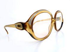 3f00e1e3f809 Vintage 80 s CHRISTIAN DIOR Eyeglasses Sunglasses Frames - Oversized Unisex  Lunettes- Boho Chic
