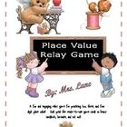 A fun and engaging relay game for practicing 2, 3, and 4 digit place value. Students come to the board in pairs and race against each other to writ...
