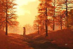 Dusk Approaches In Sleepy Hollow by Daniel Eskridge
