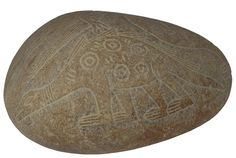 Ica Ceremonial Burial Stone from the Nasca culture (100 BC to 800AD).