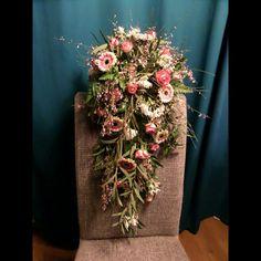 Les 9... Cascade bruidsboeket