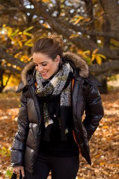 A warm & cozy down jacket is always chic.