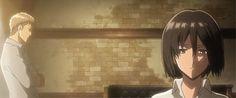 Jeankasa/JeanMika Gif | Attack on Titan / Shingeki no Kyojin AoT/SnK | Jean Kirstein/Kirschtein x Mikasa Ackerman JeanKasa/JeanMika | Anime Manga cute couple OTP