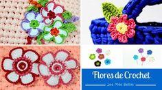 Las más bellas flores de crochet y ganchillo