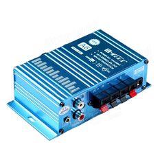 Mini 12V Hi-Fi Audio Stereo Digital Car Amplifier TELI-A6 - US$8.99