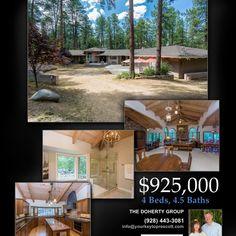 New Listing – Homes for Sale – 4722 Senator Hwy, Prescott, AZ 86303 – 4 Bed 5 Bath – Groom Creek – Guest House – 5 Car Garage 5 Car Garage, Prescott Arizona, Groom, Campaign, Real Estate, Homes, Content, Bath, Mansions