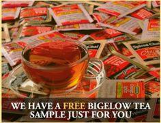 FREE Bigelow Tea Sample