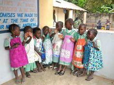 Help Paper Village in Bristol make 500 dresses for Dress a Girl Around the World by July 2014.
