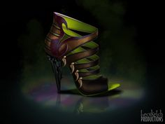 Scar [INSPIRED DISNEY SHOES COLLECTION] Concepted by BecSketch  #thelionking