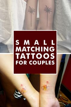 cutelittletattoos:  Matching Tattoos for Couples: Why it is a...