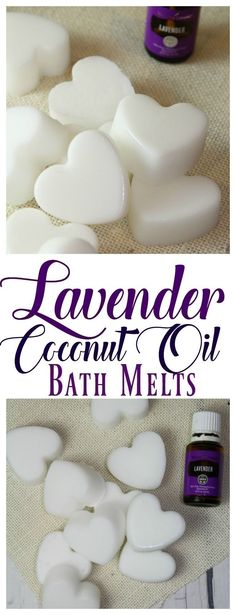 These Lavender Coconut Oil Bath Melts are an easy, and inexpensive way to moisturize dry skin. : These Lavender Coconut Oil Bath Melts are an easy, and inexpensive way to moisturize dry skin. Diy Beauté, Diy Spa, Sell Diy, Crafts To Make And Sell, Diy Lush, Essential Oil Blends, Essential Oils, Essential Oil Bath Bombs, Bath Melts