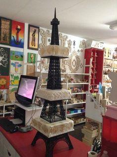 Base Torre Eiffel para Pastel