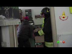 Sisma centro Italia - Soccorsi dei Vigili del Fuoco - Ussita 3 Novembre ...