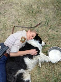 Katee Sackhoff taking a nap on set of 'Longmire'