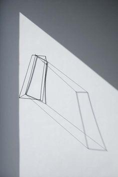 sculpture + prism + light + shadow