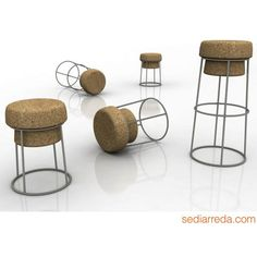 Bouchon - Domitalia stools